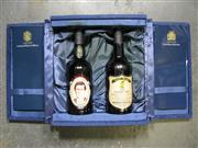 Sale 8398A - Lot 889 - 1x 1979 Wolf Blass Royal Wedding Vintage Port - 2 bottles in gift box