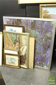 Sale 8468 - Lot 2045 - Group of (7) Assorted Decorative Prints incl. Monet (framed/various sizes)