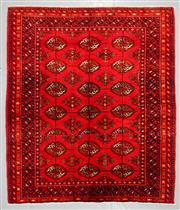 Sale 8539C - Lot 23 - Persian Turkman 145cm x 125cm