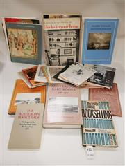 Sale 8822B - Lot 734 - A quantity of books & pamphlets including Australia rare books by Johnathon Wamtuip and other referencing the book trade and other s...