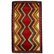 Sale 8840C - Lot 35 - A Persian Nomadic Contemporary Lori Rug, Handspun Wool, 147 x 85cm