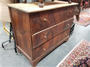 Sale 8863 - Lot 1064 - Timber Chest of Three Drawers
