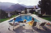 Sale 8984 - Lot 1061 - Slim Aarons Poolside Gossip photograph (A/F - crease), 30 x 45.5 cm, printed by YellowKorner