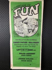 Sale 9003P - Lot 82 - Vintage Movie Poster - A Hurricane of Fun
