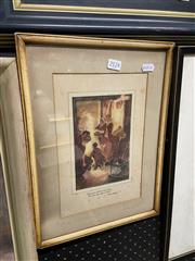 Sale 9045 - Lot 2086 - A.B. Macbray - Halloween, 1914 26.5 x 21 cm (frame: 37 x 28 x 3 cm)