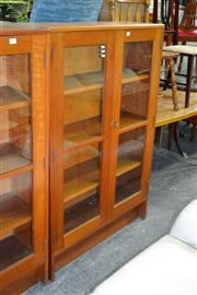 Sale 7987A - Lot 1259 - Bookcase with 2 Glass Doors