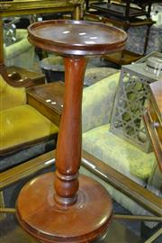 Sale 8093 - Lot 1378 - Turned Timber Pedestal