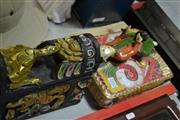 Sale 8116 - Lot 83 - Oriental Artworks Including Boxes with Figure