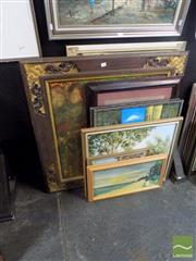 Sale 8474 - Lot 2051 - Collection of Original Paintings by Various Artists ( various sizes)