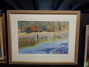 Sale 8613 - Lot 2093 - Jean Bleake - Reflections, 56 x 73 (frame size), signed lower right