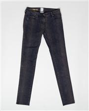 Sale 8740F - Lot 2 - A pair of Sass & Bide jeans with a faded snakeskin print, size 27
