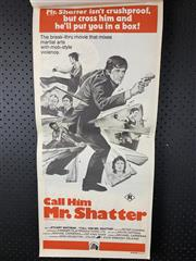Sale 9003P - Lot 83 - Vintage Movie Poster - Call Him Mr. Shatter