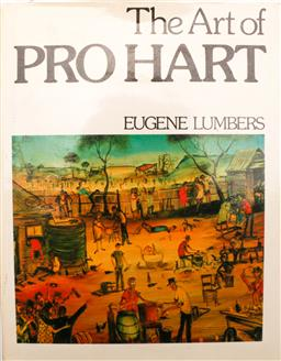 Sale 9128 - Lot 62 - The art of Pro Hart, signed by Pro Hart 1st edition c1977 - with original fly leaf
