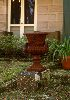 Sale 3660 - Lot 101 - TWO CAST IRON GARDEN URNS