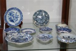 Sale 7917 - Lot 27 - Antique Dutch Plates with Other Blue & White Wares