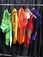 Sale 7926A - Lot 1802 - Five Matching sequinned carnivale costumes with sashes