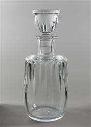 Sale 8444A - Lot 46 - A Baccarat crystal mallet form decanter and stopper, H 25cm in very good condition