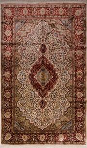 Sale 8447C - Lot 16 - Indian Silk & Wool 250cm x 150cm