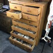 Sale 8758 - Lot 13 - Extensive Identified Seashell Collection, housed in 9 drawers