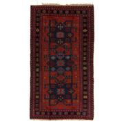 Sale 8890C - Lot 81 - Antique Caucasian Soumak Carpet, 268x147cm, Handspun Wool