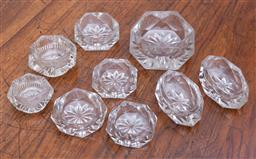 Sale 9190H - Lot 188 - Four groups of crystal salts