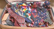 Sale 8375A - Lot 111 - A suitcase full of ties