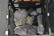Sale 8407T - Lot 2387 - Crate Of Amethyst Crystal