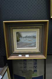 Sale 8441T - Lot 2018 - Olive McAleer (1980s - 1990s) - From Woodford Park, North Sydney 14 x 16.5cm
