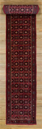 Sale 8566C - Lot 64 - Persian Husindab Runner 584cm x 74cm