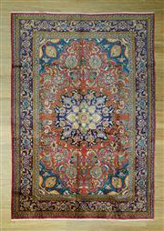 Sale 8585C - Lot 41 - Persian Lilian 310cm x 220cm