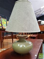 Sale 8493 - Lot 1089 - Ceramic Base Table Lamp