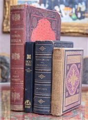 Sale 8568A - Lot 114 - 4 Volumes; Patriarchs and Profits, by EG White, 1897, Emblems of Christian Life, and two others