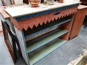 Sale 8843 - Lot 1085 - Shabby Chic Hand Painted Bookcase Top