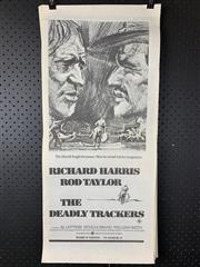 Sale 9003P - Lot 85 - Vintage Movie Poster - The Deadly Trackers starring Richard harris and Rod Taylor