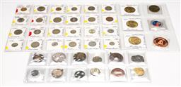 Sale 9253 - Lot 83 - A collection of coins, tokens and medallions