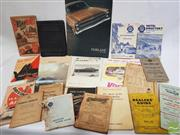 Sale 8900 - Lot 49 - Collection of Motoring Ephemera incl. Directories; Road & Traffic Code; Fairlane; etc