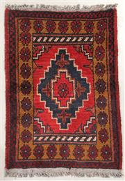 Sale 8445K - Lot 49 - Afghan Tribal Mohommadi Rug , 58x40cm, Mohommadi rugs are amongst the most well known examples of fine Afghan rug weaving.  Handwove...