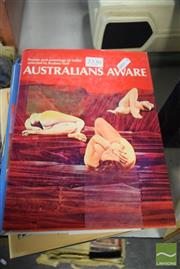 Sale 8497 - Lot 2336 - Collection of Art Books on Australian Art History incl R.Hall Australians Aware Ure Smith 1975 (9)