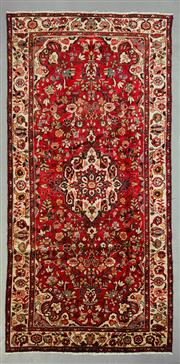 Sale 8539C - Lot 28 - Persian Kashan 317cm x 150cm