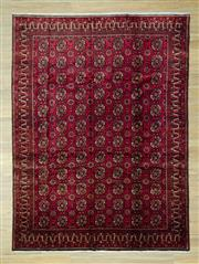 Sale 8585C - Lot 43 - Persian Turkman 280cm x 205cm