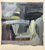 Sale 8686 - Lot 2058 - Malcolm Benham - Scrapyard, mixed media on canvas, 91 x 85cm, signed and dated verso