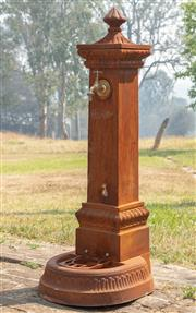 Sale 8871H - Lot 24 - A cast iron watering post, height 115cm