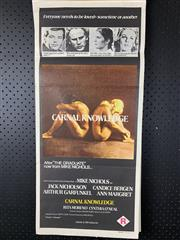 Sale 9003P - Lot 86 - Vintage Movie Poster - Carnal Kowledge