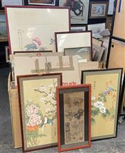 Sale 9077 - Lot 2064 - A good group of (32) Assorted Chinese Watercolours incl.