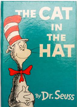 Sale 9128 - Lot 61 - Cat in the hat, signed by author c1958