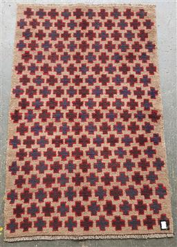 Sale 9151 - Lot 1359 - Handknotted pure wool Persian baluchi ( 140 x 90cm)