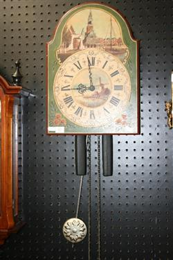 Sale 7917 - Lot 67 - Dutch Hand Painted Wall Clock
