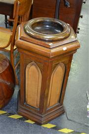 Sale 7987A - Lot 1104 - Gothic Pine Holy Water Font
