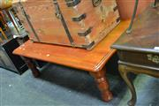 Sale 8054 - Lot 1046 - Timber Coffee Table