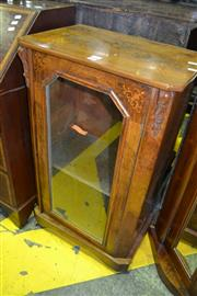 Sale 8093 - Lot 1803 - Victorian Walnut And Inlaid Music Cabinet